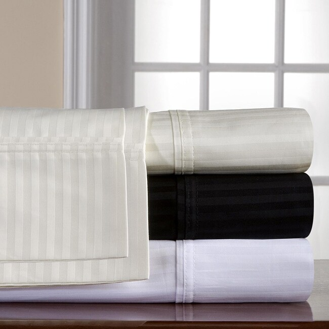 Shop Pima Cotton 400 Thread Count Twin XL size Sheet Set   Free