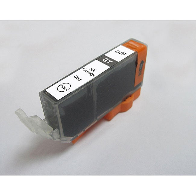 Canon Compatible CLI-221GY Grey Ink Cartridge