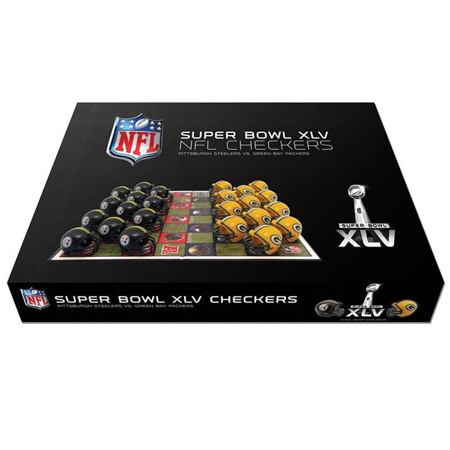 Super Bowl XLV Dueling Checker Set