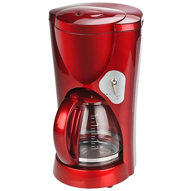 Kalorik CM 33030 Red Metallic Glass Jar Coffee Maker - Free Shipping On Orders Over USD 45 ...