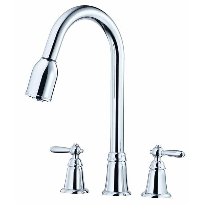 Melrose Chrome Pull-down Kitchen Faucet