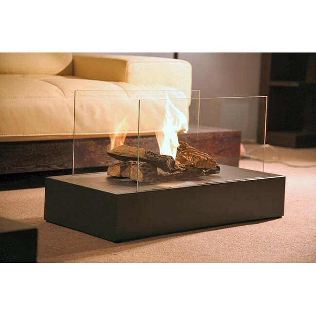 Free Standing Portable Bio-ethanol Fuel Fireplace