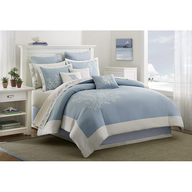shop california color sets king blue solid piece croscill comforter size set alert deal cotton monroe