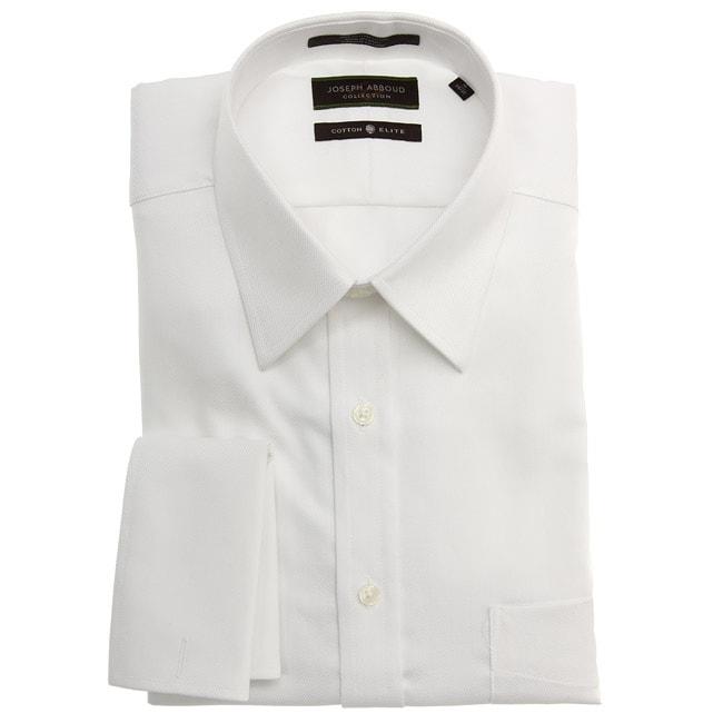 Joseph abboud men 39 s french cuff white dress shirt free for Joseph abboud dress shirt
