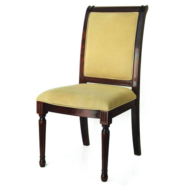 Edward Walnut Side Dining Chair - Thumbnail 0