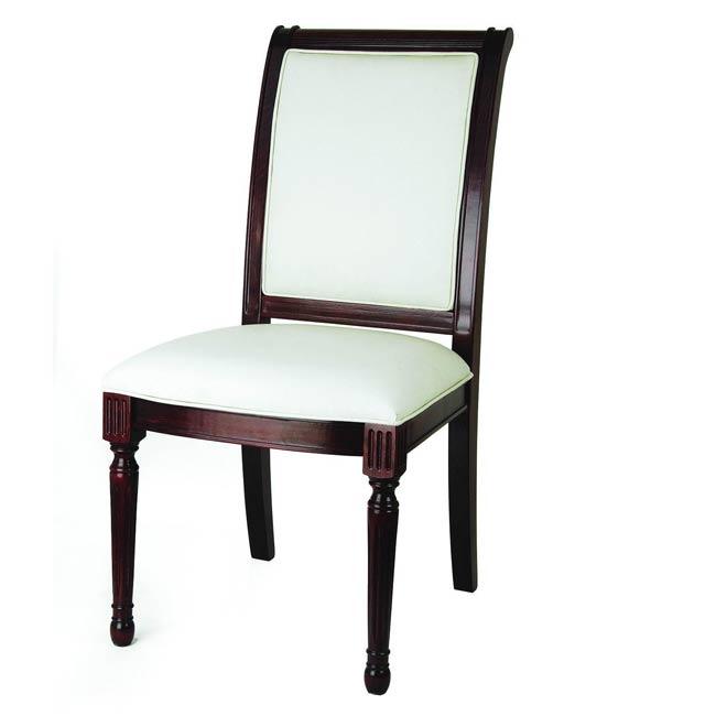 Edward Dark Mahogany Side Dining Chair