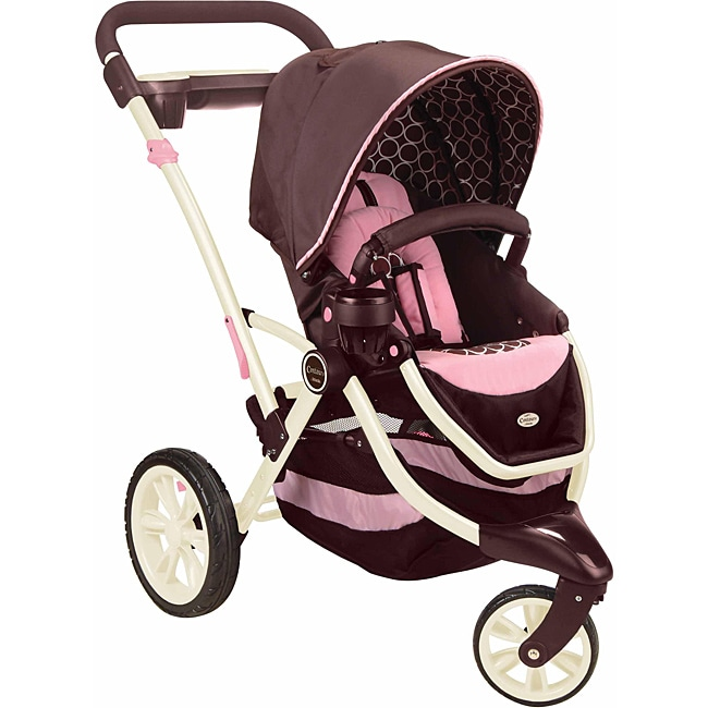 Contours Options 3-Wheeler Stroller in Blush