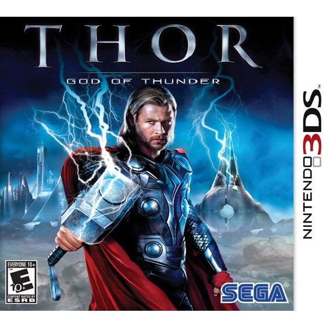 NinDS 3DS - Thor: God of Thunder