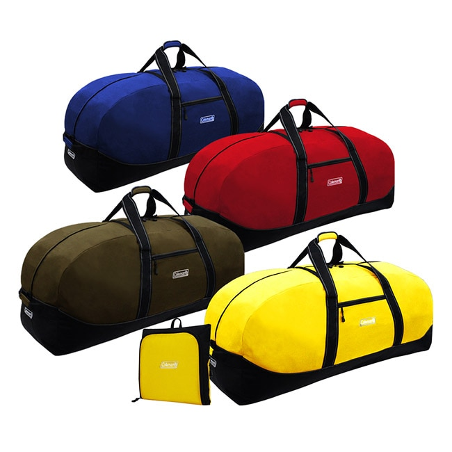 Coleman Explorer 48 Inch Foldable Camp Duffel Bag Free