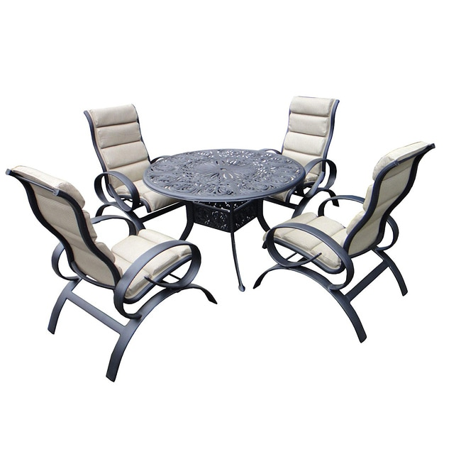 Outdoor Patio Furniture Savannah Ga: Savannah Outdoor Classics Bianca 5-pc Aluminum Sling Patio