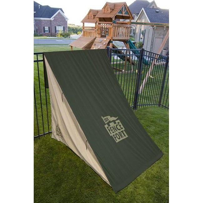 0bea8bc6a2cf Shop Fence Fort Outdoor Play Tent - Free Shipping On Orders Over $45 -  Overstock - 5701230