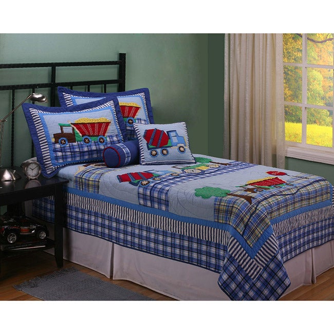Work Zone Twin-size 2-piece Quilt Set - Thumbnail 0