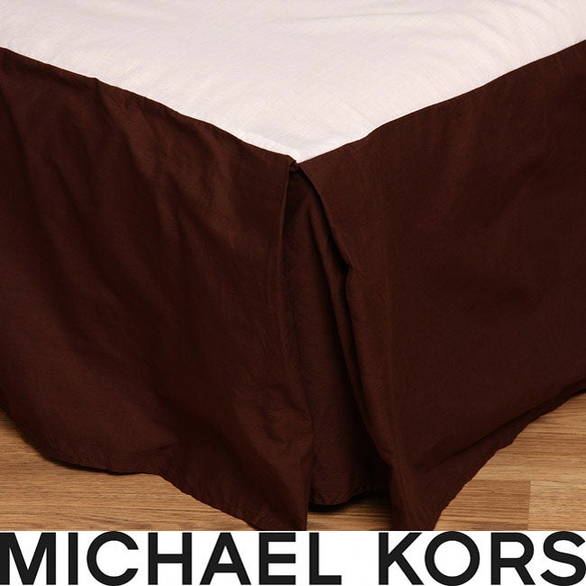Michael Kors Serengeti Brown King-size Bedskirt