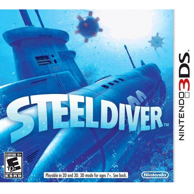 NinDS 3DS - Steel Diver - By Nintendo