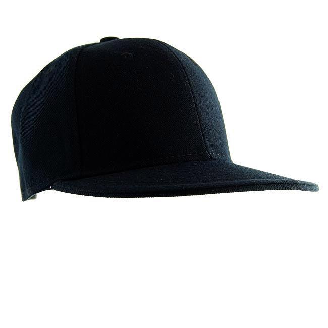 H2W Men's Black Canvas Baseball Cap