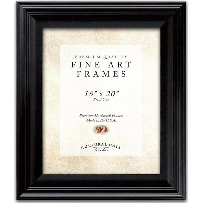 Shop Fine Art Frames 16x20 Classic Black Photo Frame Free Shipping