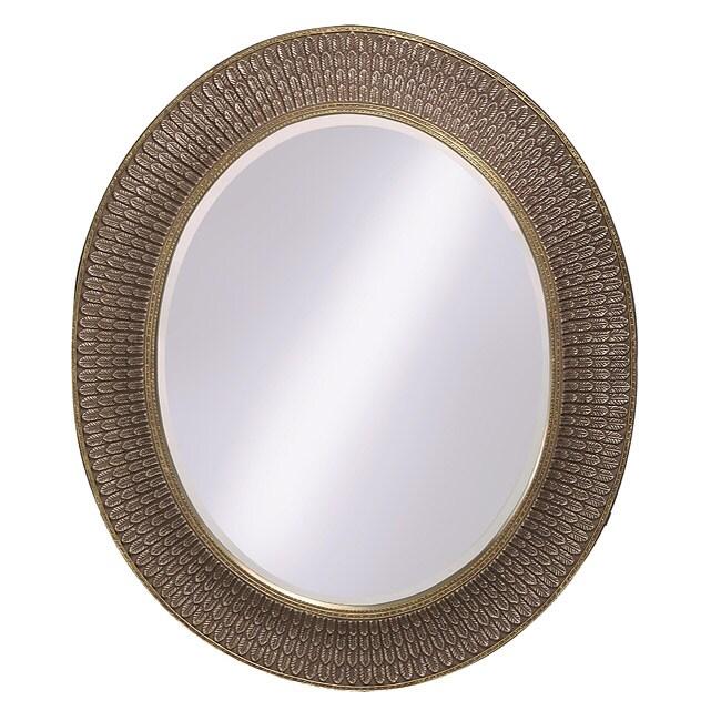 Scottsdale Antique Silver Leaf Mirror