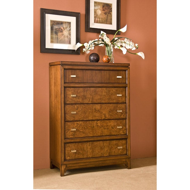 Metro Loft Honey Drawer Chest