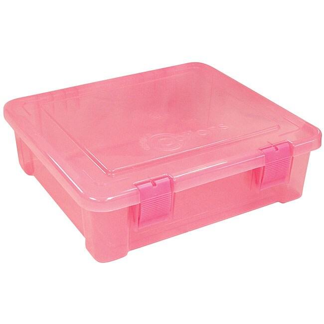 Creative Options Pink Plastic Tub