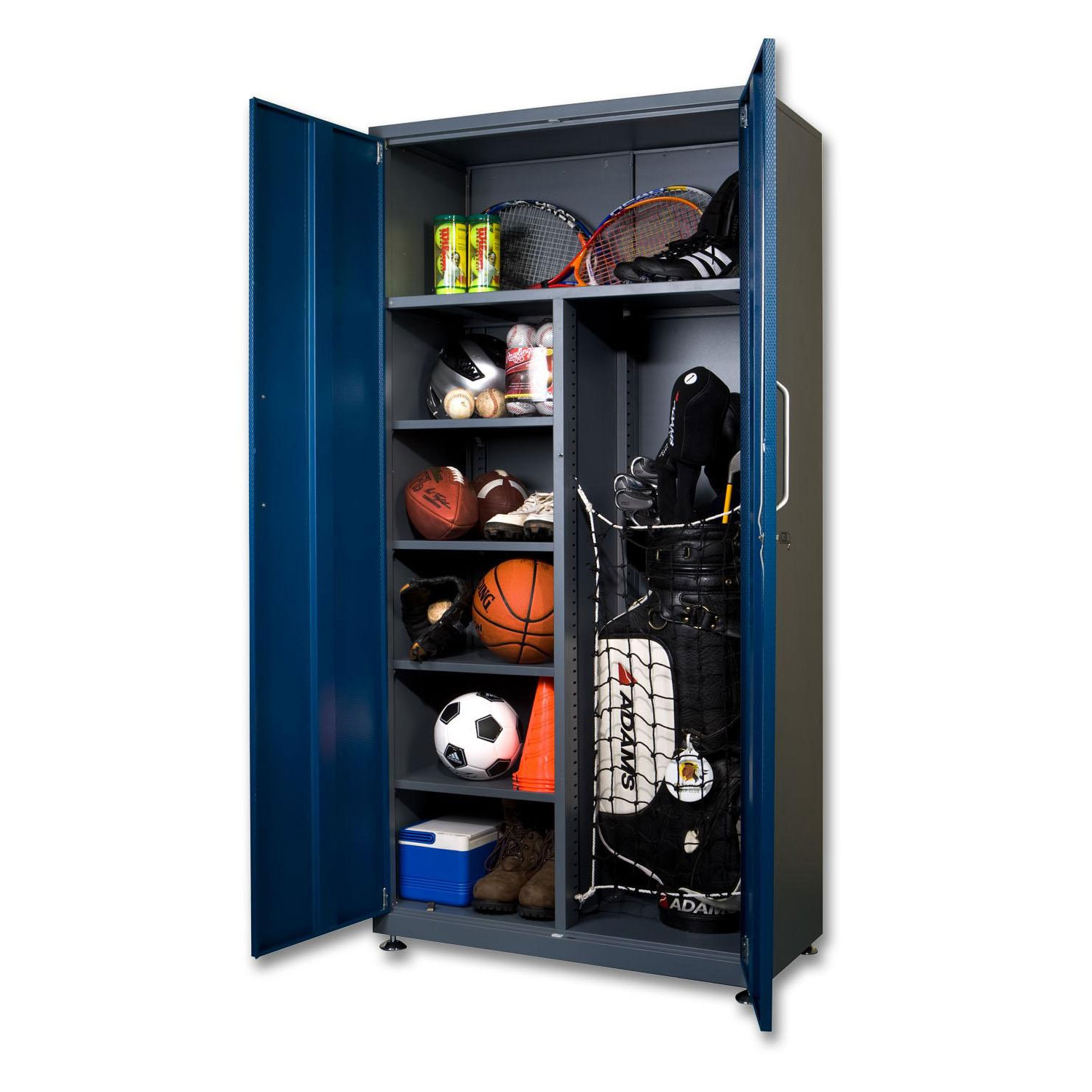 Spacemaker Garage Storage Tall Steel Locker