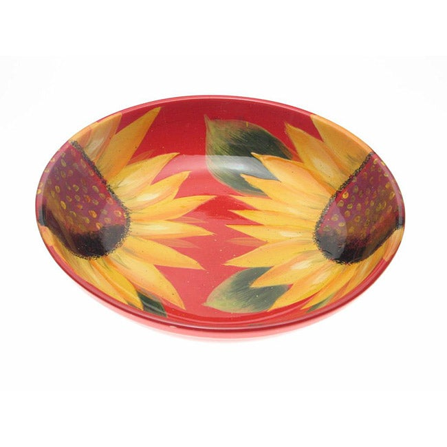 Certified International Sun Blossom 13-inch Pasta/ Serving Bowl