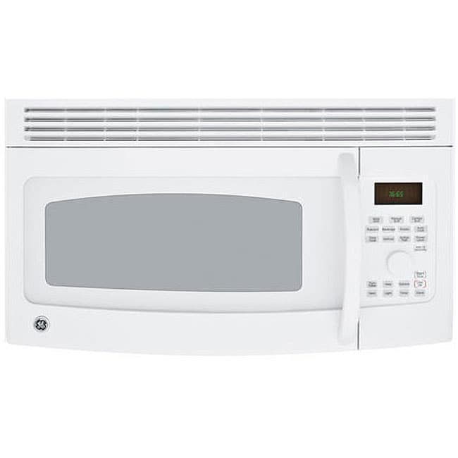 Ge Profile Spacemaker Jvm1665dnww White 1 6cu Ft Over The