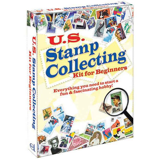 Dover Publications U.S. Stamp Collecting Kit For Beginners