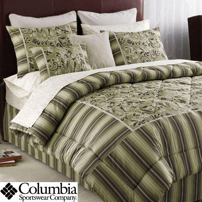 Columbia Mountain California King-size 4-piece Comforter Set