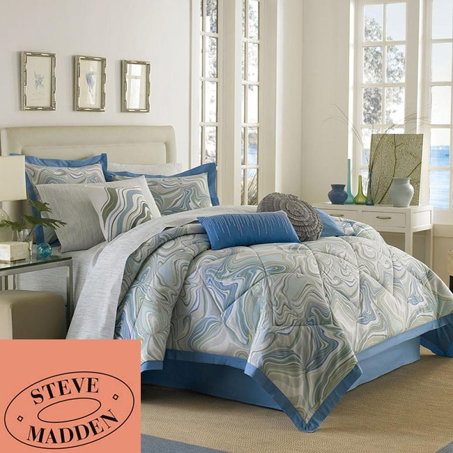 Steve Madden Lucy 7-piece Queen-size Bed in a Bag with Sheet Set