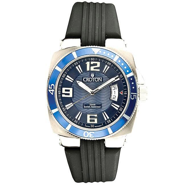 Croton Man's Titanium Diver's Quartz Watch