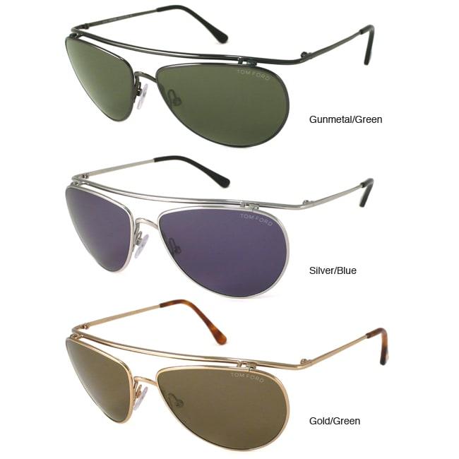 Tom Ford TF0191 Men's Aviator Sunglasses