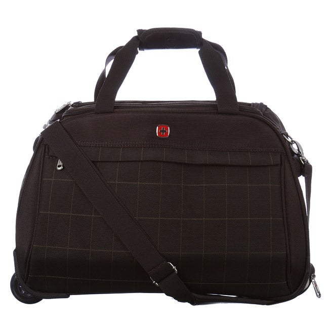 0f66ea99f24e Shop Wenger Swiss Gear Aubonne 21-inch Carry On Rolling Duffel Bag ...