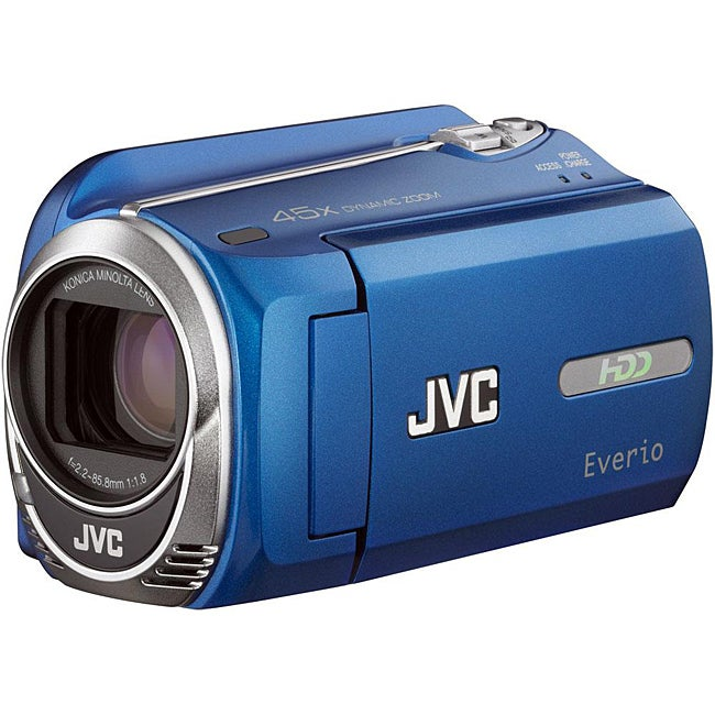 JVC Everio GZ-MG750 80GB HDD Blue Camcorder (Refurbished)