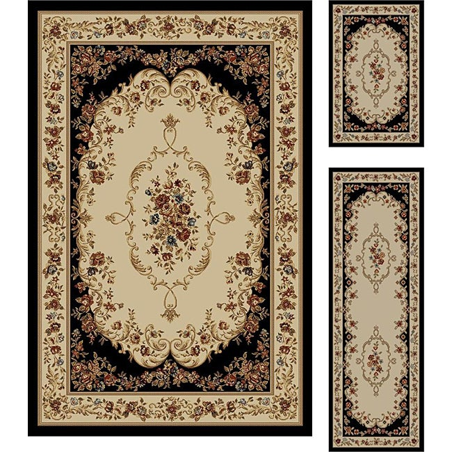 Shop Multi Collection Set Of 3 Area Rugs 1 8x2 8 1 8x5 5 X7
