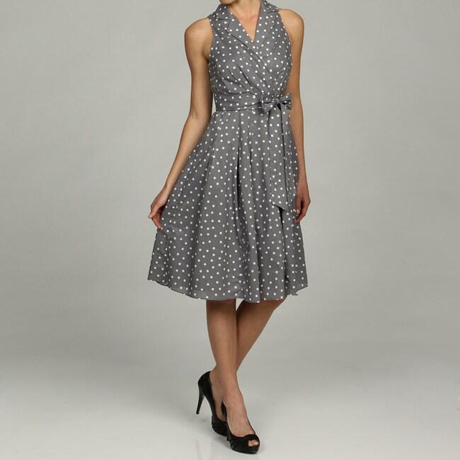 Evan Picone Black Halter Dress Dress On Sale