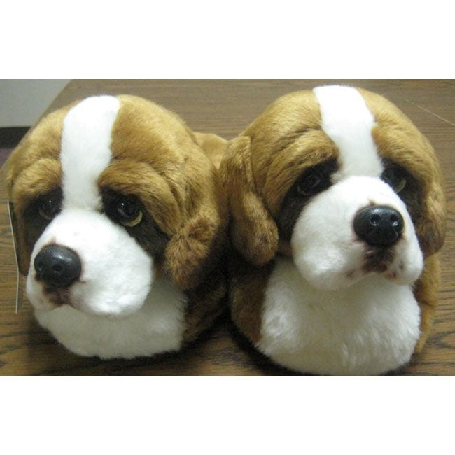 Adult St. Bernard Slippers