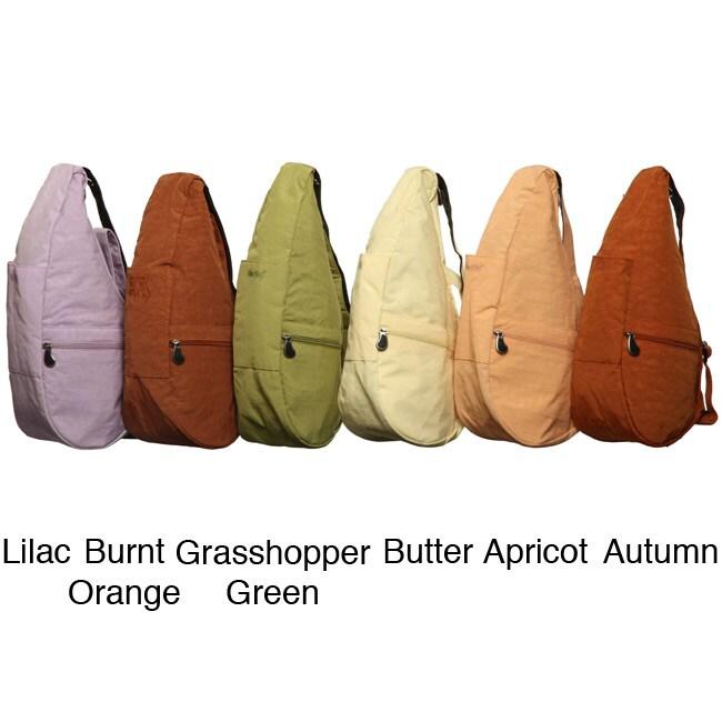Ameribag Distressed Nylon Healthy Back Sling Bag