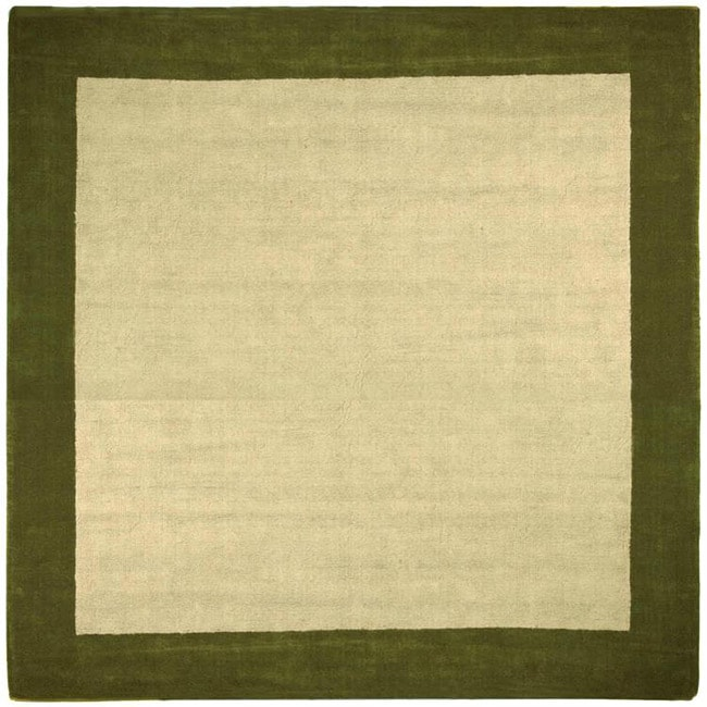 Hand-tufted Madelia Natural Rug (8' x 8')