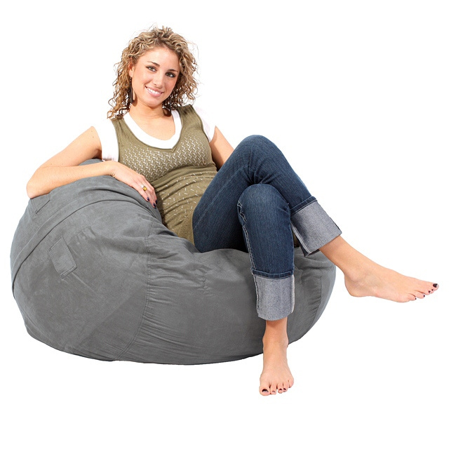 LoveSac Limited Edition Gunmetal GamerSac Lounge Chair