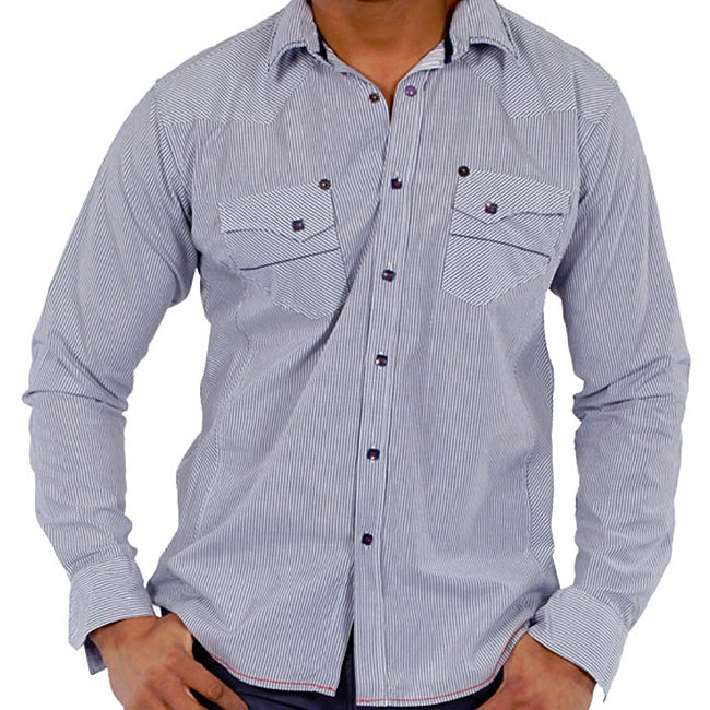 191 Unlimited Men's Striped Shirt