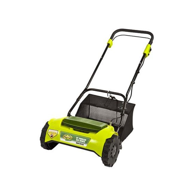 Murray Lawn Mowers Battery : Sun joe mj c mow in volt cordless electric