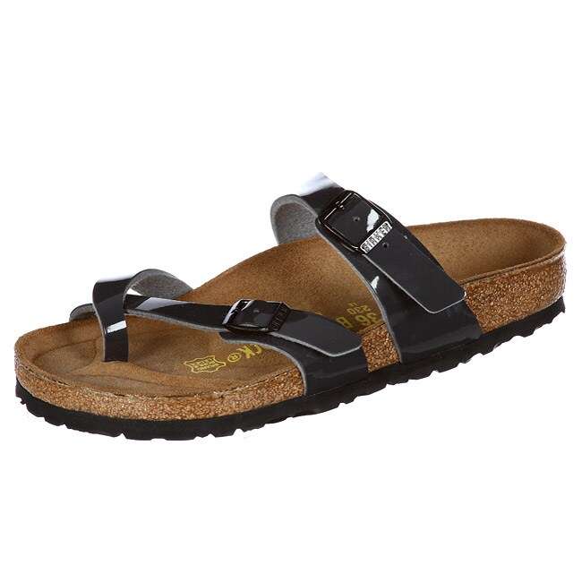 Shop Birkenstock Women s  Mayari  Birko-flor Sandals - Free Shipping Today  - Overstock - 5795099 abf2a3fd9fb