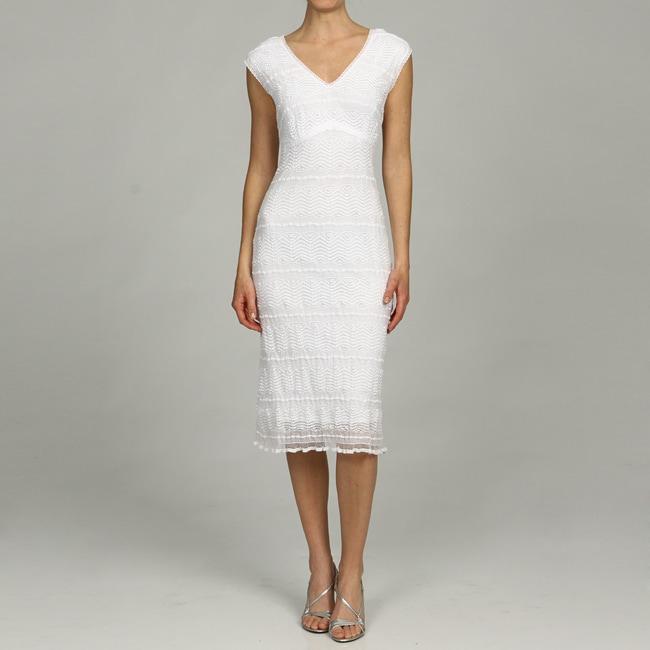 Rabbit Rabbit Rabbit Designs Women S White Stretch Lace