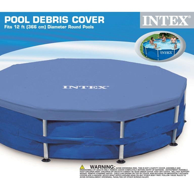 Intex Round Pool Cover 12 X 10 Free Shipping On Orders