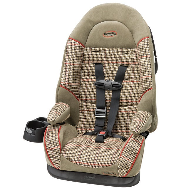 evenflo chase lx booster car seat in steeplechase free shipping today 13521517. Black Bedroom Furniture Sets. Home Design Ideas