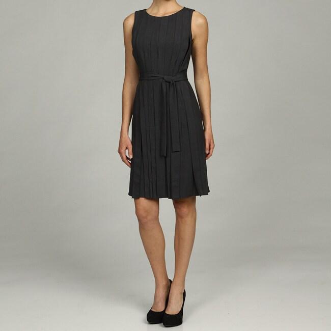 5a8600752e6b4 Shop Calvin Klein Women's Belted Waist Dress - Free Shipping Today -  Overstock - 5804501