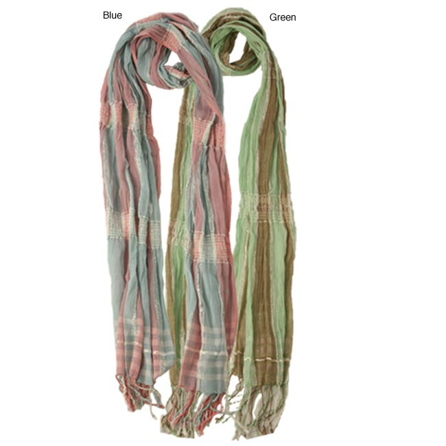 Two-tone Colored Scarf (India)