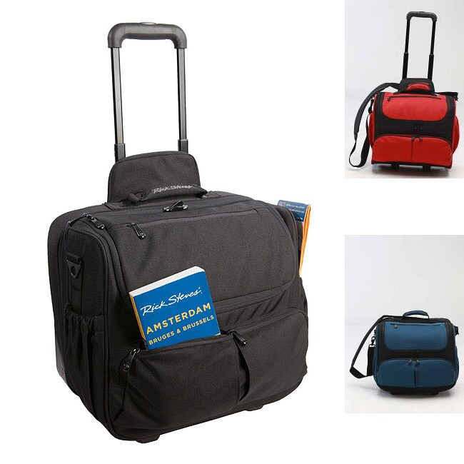 Rick Steves Avanti Carry On Rolling Tote Free Shipping Today Overstock Com 13527787