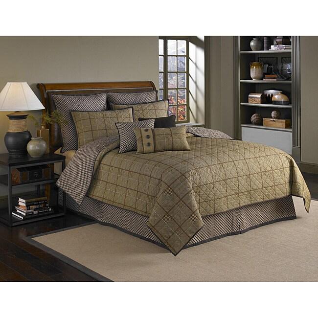 Classic Plaid Boudoir Pillow