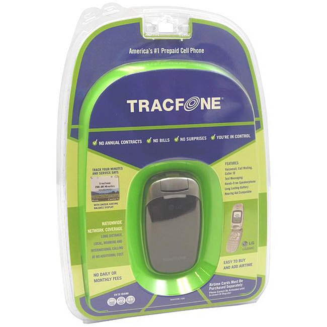 LG 200C Tracfone Pre-paid Grey Cell Phone